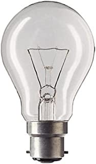 = 55/W-60/W 630/l/úmenes BC B22/B22d GLS hal/ógenas Classic l/ámparas de ahorro de energ/ía bombillas de luz 2/unidades STATUS 42/W intensidad regulable red 240/V globos casquillo de bayoneta