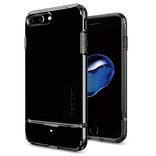 Spigen Flip Armor Designed for Apple iPhone 8 Plus Case (2017) / Designed for iPhone 7 Plus Case (2016) - Jet Black