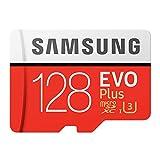 pedkit Tarjeta de Memoria, Tarjeta de Almacenamiento de Memoria 32GB / 64GB / 128GB / 256GB 100MB / S 4K Class10 Tarjetas Micro SD Red Plus U3 128GB