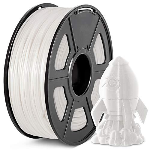 Filament PLA+ 1.75mm, JAYO PLA Plus Filament, Durchmessertoleranz +/- 0.02mm, 3D Drucker Filament 1KG Spool, PLA Plus Weiß