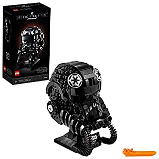 LEGO Star Wars TIE Fighter Pilot Helmet 75274 Building Kit, Cool, Collectible Star Wars Character Building Set (B085LGR5TT)   Amazon price tracker / tracking, Amazon price history charts, Amazon price watches, Amazon price drop alerts