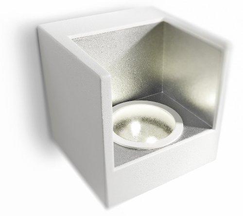 Philips Ledino LED-Wandleuchte Mathea 2-flammig 2 W, weiß 690863116