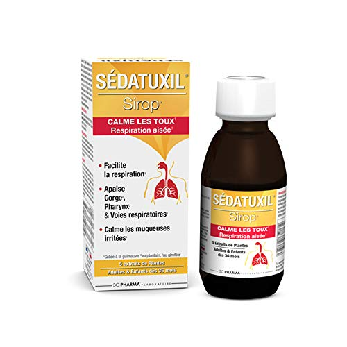 3c Pharma - Sirop Pour La Toux Sedatuxil125ml 3c Pharma