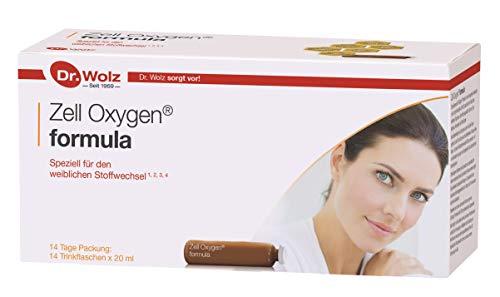 Zell Oxygen formula von Dr. Wolz, 14x 20ml Ampullen