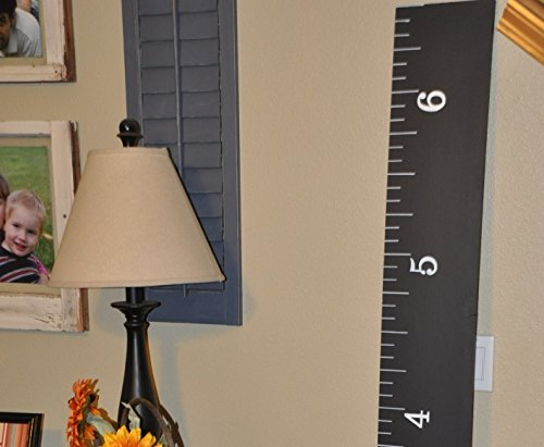 7000 Sold! Wooden Growth Charts Life-size handmade CHALKBOARD growth chart rulers for measuring kids' height