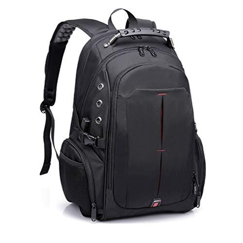 TUKIS Ruschen Rucksack Herren mit ergonomischem Design, Premium Laptop Rucksäcke für 15,6 Zoll Notebook, Backpack/Schulrucksack/Daypack