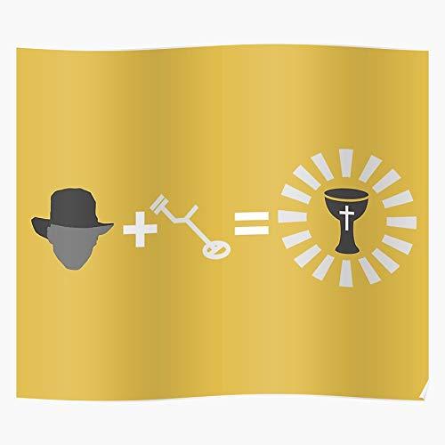 Generic Hunter3903 Meme Jones Detector Ancient Indiana Detecting Metal Metaldetector Home Decor Wandkunst drucken Poster !