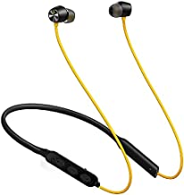 FANMADE Neckband Wireless Bluetooth Earphone Built in Mic HiFi Stereo Sound Deep Bass Active Noise Cancellation Headphone for All Android Smartphone iOS Devices and Tables