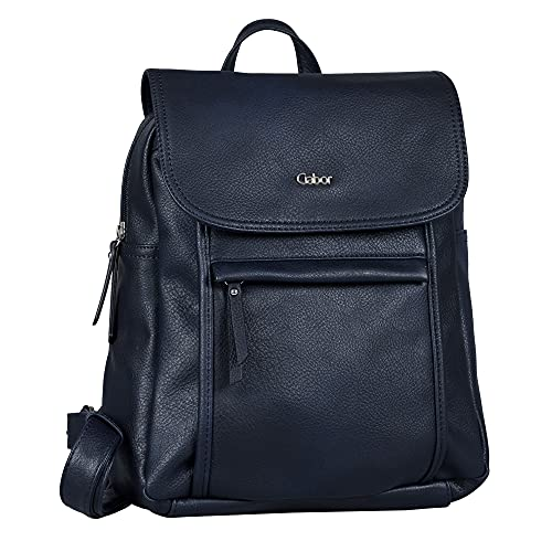 Gabor bags MINA Damen Rucksack M, blue, 26x10x31