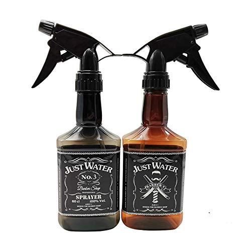 Domilay 10 Pcs 350 Ml Whisky Rechargeable Bouteille de PulvéRisation Portable Huile Liquide Atomiseur D'Eau Professionnel Barbier Outil de Coiffure