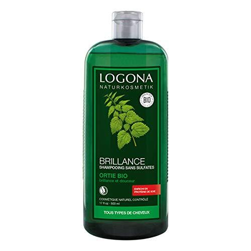 Logona shampoo glans met brandnetel, 500 ml, 2 stuks