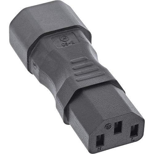 InLine Netzadapter IEC 60320 C14 C13 3pol Kaltgerate