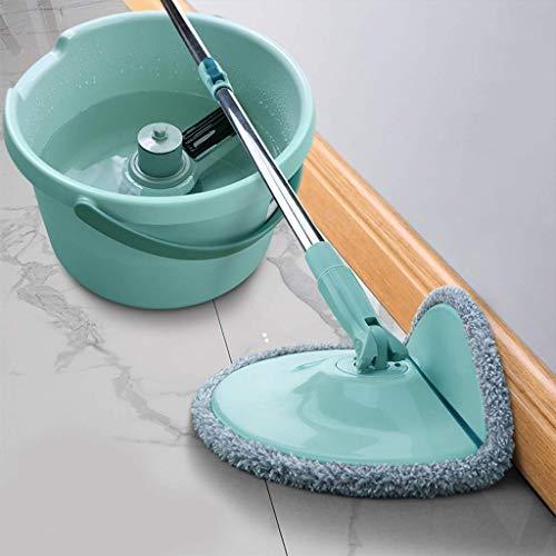 Magic Mop Mop Bucket Mop Free Microfiber Spinning Floor Mop Head para Housekeeper Home Floor Fregona de Limpieza