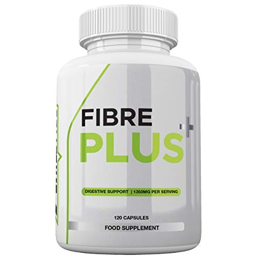 Fibre Plus by Freak Athletics - Daily Fibre Supplement - Premium Fibre Capsules with Psyllium Husk, Chia Seed, Baobab Fruit
