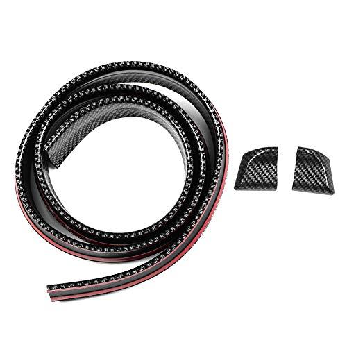 1.5m/4.9ft Heckspoiler, Universal Carbon Style Dachspoiler Heckspoiler Wing Lip Sticker Kit