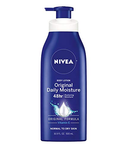 Our #5 Pick is the Nivea Original Daily Moisture Body Lotion