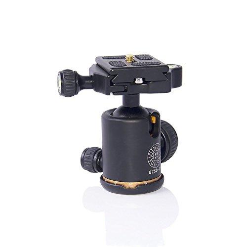 Morjava MJ-06 Aluminum Camera Tripod Ball Head Camera Tripod Max Load to 15kg