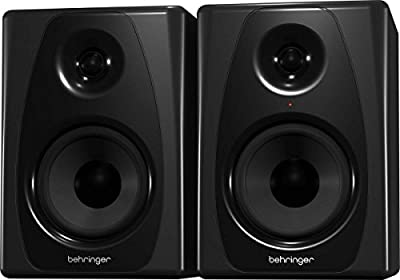 Behringer Studio 50USB 150W Bi-Amped Reference Studio Monitor Speakers with USB Input, High-Resolution, Pair by Behringer
