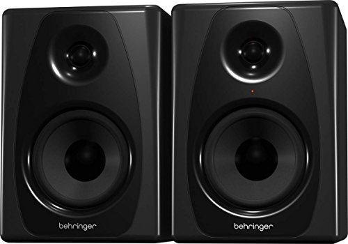 Behringer Studio 50USB 150W Bi-Amped Reference Studio Monitor Speakers with USB Input, High-Resolution, Pair