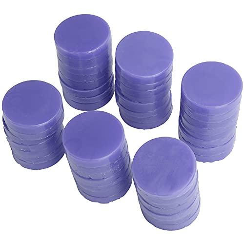Professional Hard Wax for Hair Removal Men Women Unisex Depilatory Wax for Face Body Arm Leg Bikini Area, Hair Removal Wax for Wax Heater (1000g) (Purple)