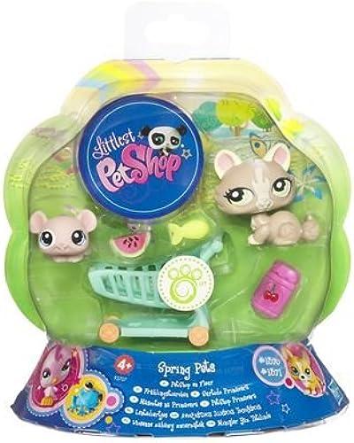 Littlest Petshop 93707 Puppe Petshop in Blaume K chen und Maus