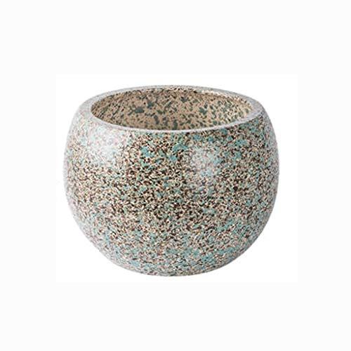 LHY- Bloempot Ceramic bloempot Antique Grof aardewerk Grote Diameter Antieke bloempot Prachtig (Color : C)