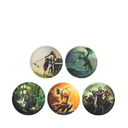 ergobag Klettie-Set mit verschiedenen Motiven II 17,5 cm