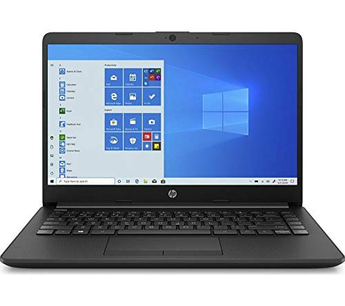 HP 14-cf2517sa Laptop, Intel Pentium Gold 6405U (2.40GHz), 4GB, 128GB, Windows 10 Home, Black