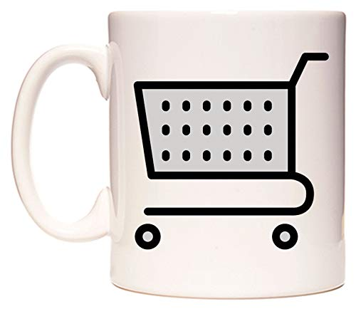 WeDoMugs Shopping Cart Emoji Becher