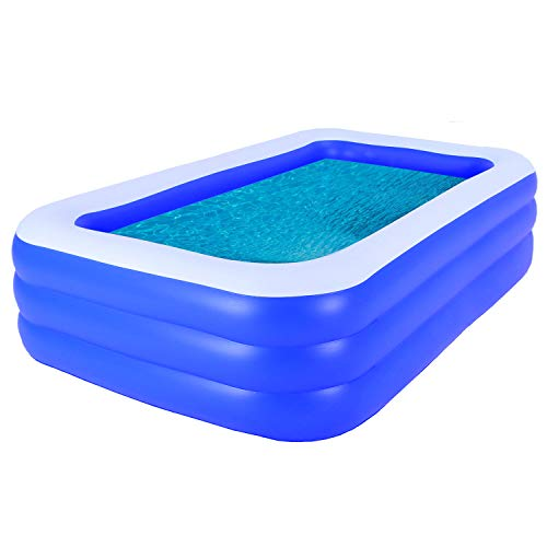 Family Inflatable Swimming Pool,...