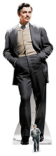 Star Einbauöffnungen Rhett Butler (Clark Gable) Classic Gone with The Wind, Multi Farbe