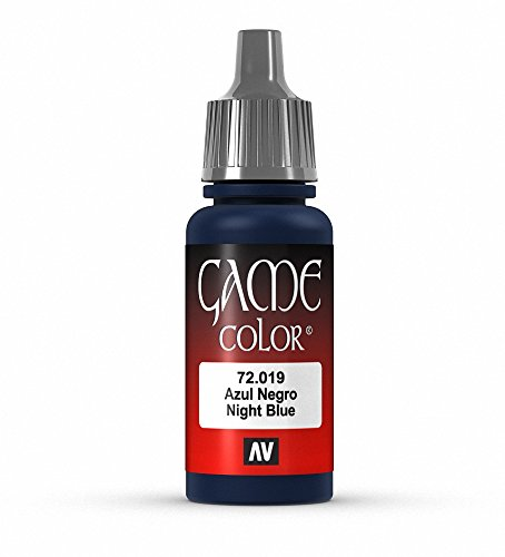 Vallejo Game Color Night Blue Paint, 17ml