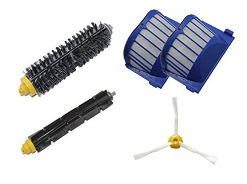 FirstDecor BEST PET BRUSHES OUT NOW! For Roomba 500 600 Series 620 650 595 555 537 550 560 580