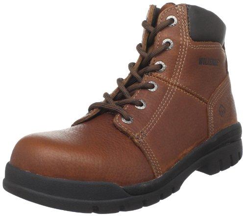 Wolverine Men's Marquette W04713 Steel Toe Work Boot,Walnut,9 XW US