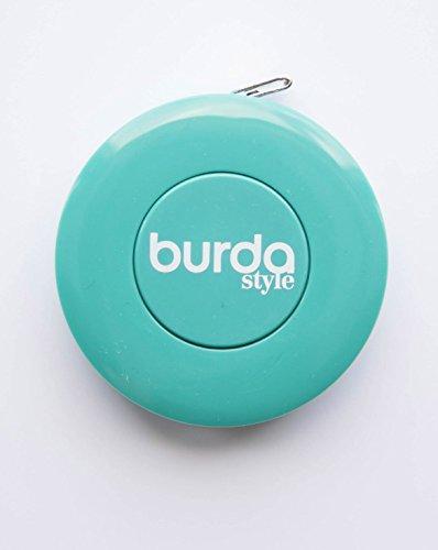 Burda Style Nähzubehör: Rollmaßband, Farbe [türkis], [Art.Nr.: 58]