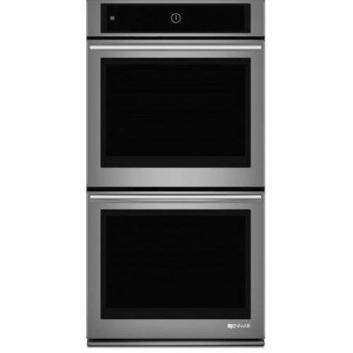Jenn-Air JJW2727WS 27' Stainless Double Electric Wall Oven Convection; Double Wall Oven with Upper MultiMode Convection, 27' JJW2727WS