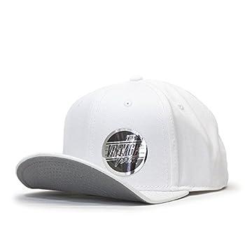 The Vintage Year Flat to Full Flip Brim Cotton Twill Bendable Visor Adjustable Snapback Caps  White
