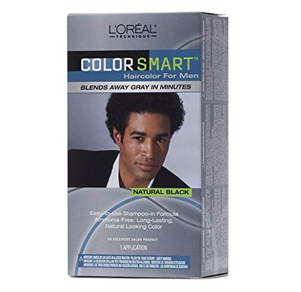 相談するアグネスグレイジャズL'Oreal Technique - Color Smart for Men - Natural Black KIT