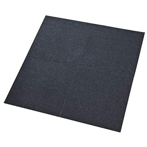 Comfort Teppichfliesen Nadelfilz | 1m² | anthrazit | selbstklebend