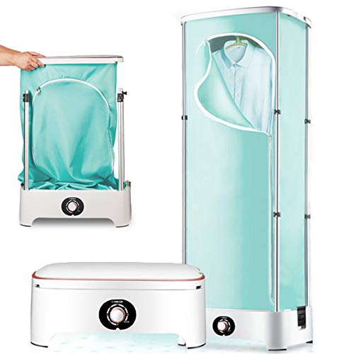 WOCAO Tragbare Wäschetrockner, Faltenden Hauptreisebüros Dryer Mute