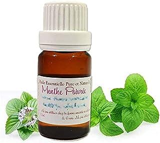 Huiles et Bien-être Huile Essentielle de Menthe Poivrée Mentha Piperita 10 ml