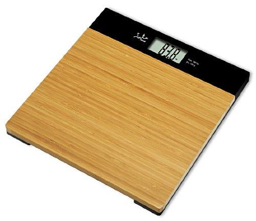 Jata Hogar 494 - Báscula electrónica de bambú, 180 kg