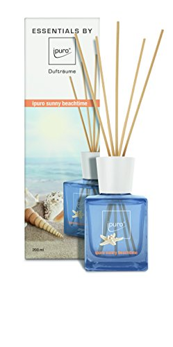 ipuro ESSENTIALS Raumduft sunny beachtime, 1er Pack (1 x 200 ml)