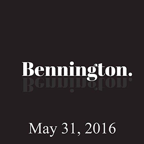 Bennington, Doug Stanhope, Maya Rudolph, Martin Short, May 31, 2016 audiobook cover art