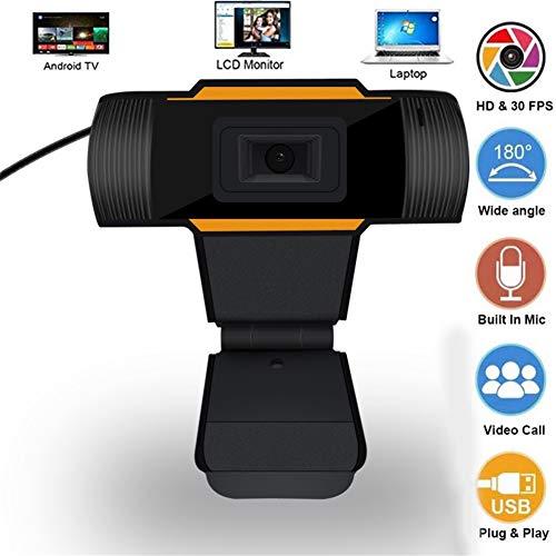 Web CAM Transmisión En Vivo del Juego De Clase En Línea HD 720P Computer Conference Cámara Web Grabador De Cámara HD Camera con Reducción De Ruido Micrófono (Specification : 480p)