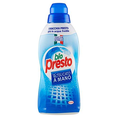 Bio Presto - Detergente A Mano, Smacchia Presto, Anche In Acqua Fredda - 750 Ml