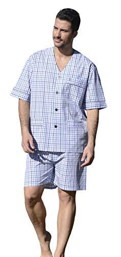 El Búho Nocturno Pijama de Caballero de Manga Corta y