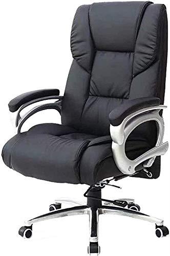 Schreibtischstühle Computer Gaming Stühle High Back Manager Arbeitsstuhl Leder Ergonomische verstellbare Höhen Bürostuhl Sessel