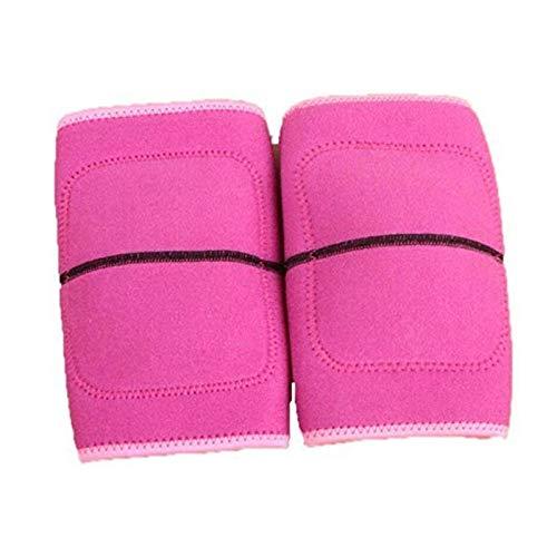 YuuHeeER Rodilleras deportivas para niños, compresión, espesar esponja, almohadilla de almohadilla, envolturas de apoyo para la rodilla
