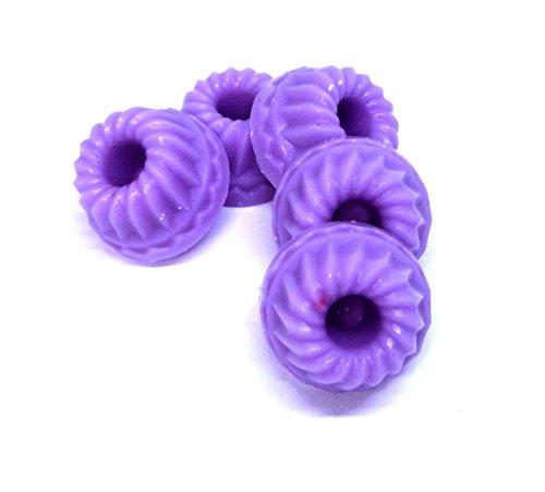 5er Set - Duftwachs | Melt | Duftkerzen | Raumduft für die Aromalampe (Lavendel)